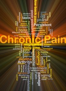 chronic pain caused by auto injury
